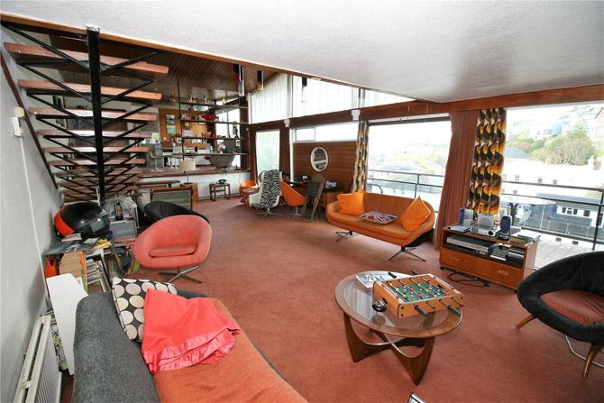 For sale: Mervyn Seale's 1960s Parkham Wood House in Brixham, Devon