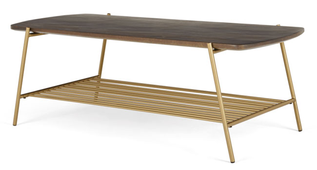 Bortolin 1950s-style coffee table at Made