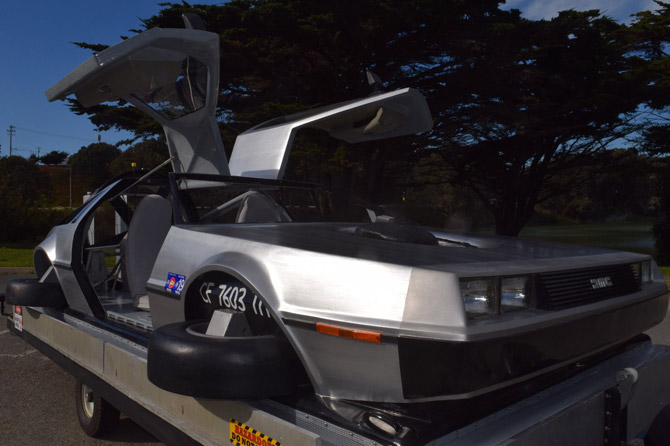 DeLorean hovercraft goes up for sale on eBay