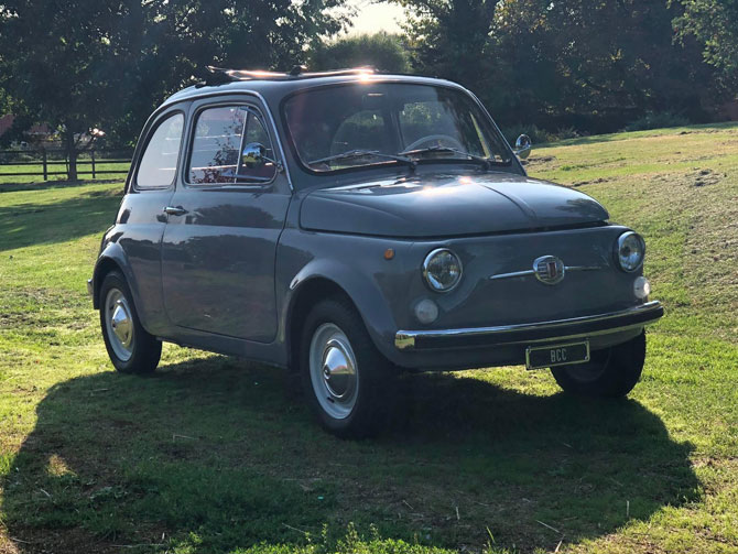 Fully restored 1969 Fiat 500 Lusso on eBay