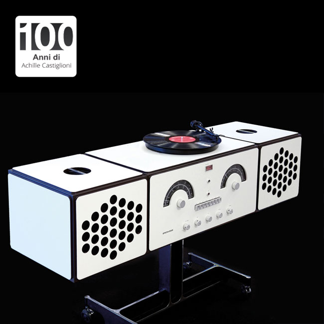 2. 1960s Brionvega Radiofonografo record player