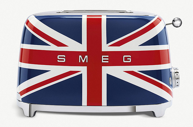 Smeg Union Jack retro toaster unveiled