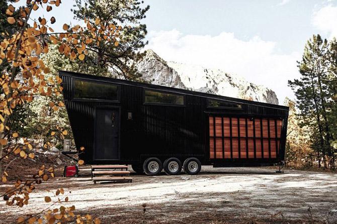 Land Ark unveils the Draper midcentury modern mobile home