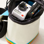 Polaroid Originals retro camera bag at Urban Outfitters