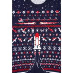 Space Shuttle Christmas jumper at the Science Museum