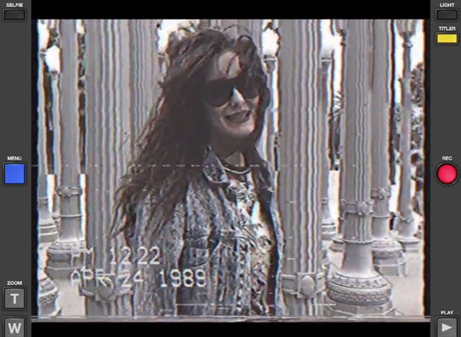 App turns your smartphone into a VHS Camcorder