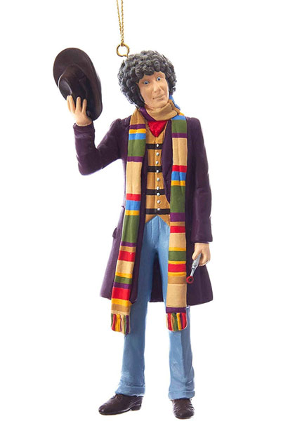 Retro Doctor Who Christmas decorations by Kurt Adler