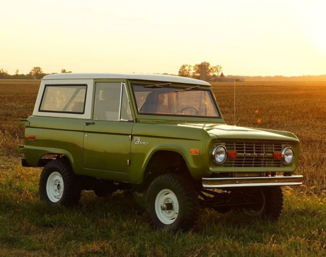 1960s Ford Bronco goes back into production