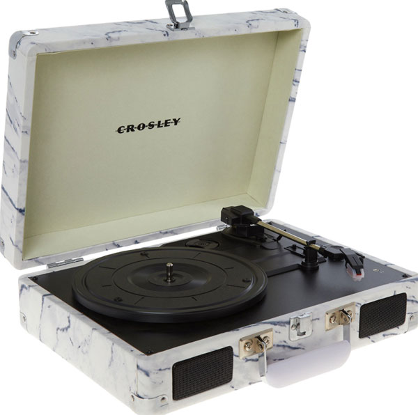 Discounted: Crosley record players at TK Maxx