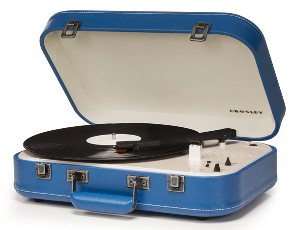 Crosley Coupe 1950s-style portable record player