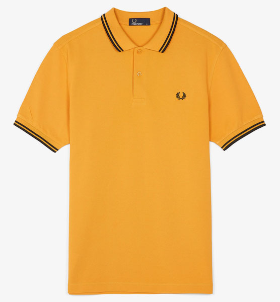 Britpop style: Fred Perry polo shirts in 1994 colours