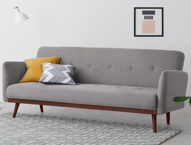 2. Stevie midcentury modern sofa bed