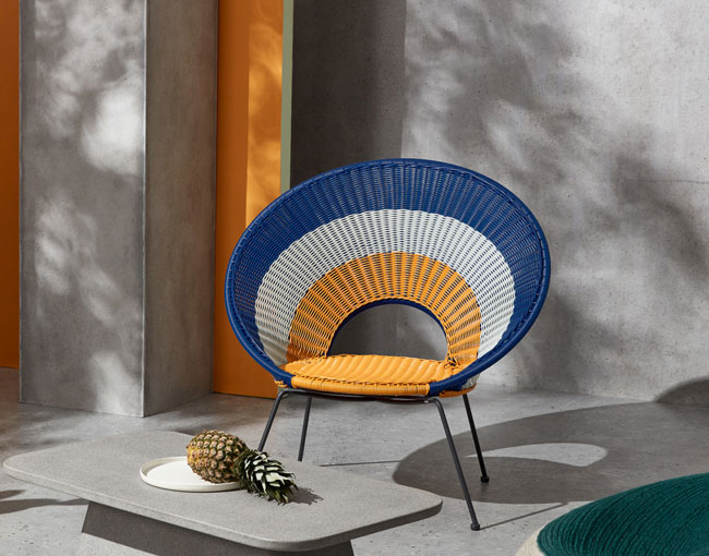 3. Yuri target design garden lounge chair