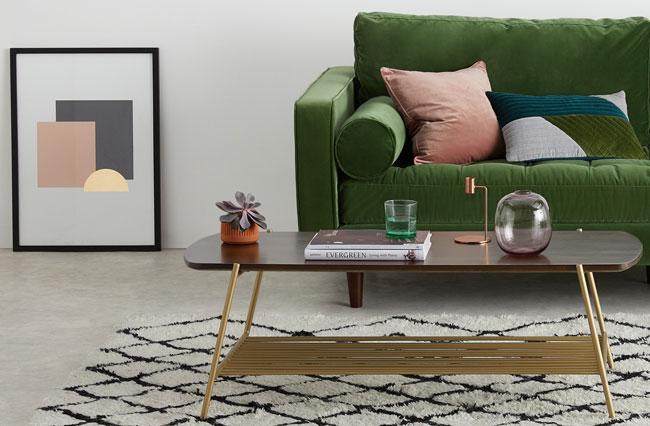 4. Bortolin retro-style coffee table