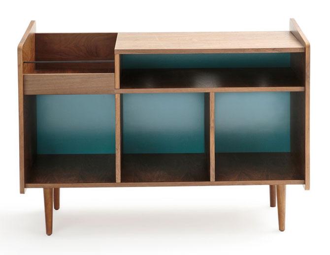Ronda 1960s-style vinyl cabinet at La Redoute