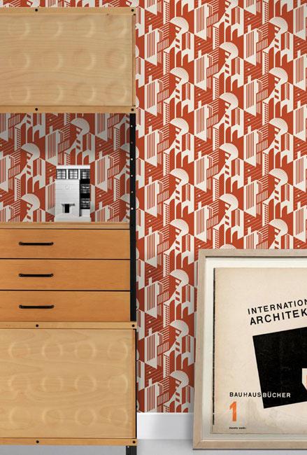 Mini Moderns introduces the Bauhaus wallpaper collection