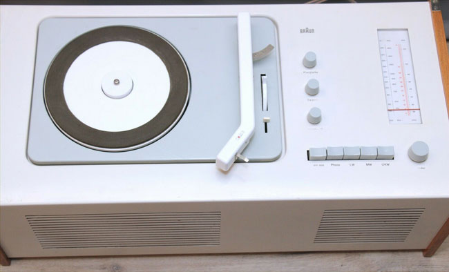 1960s Dieter Rams Braun SK61 record player and radio on eBay
