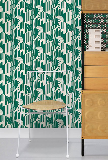 Mini Moderns introduces the Bauhaus wallpaper collection