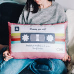 Tape that: Personalised Cassette Tape Cushion
