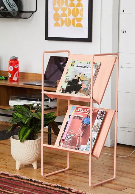Lola vinyl storage racks at Urban Outfitters