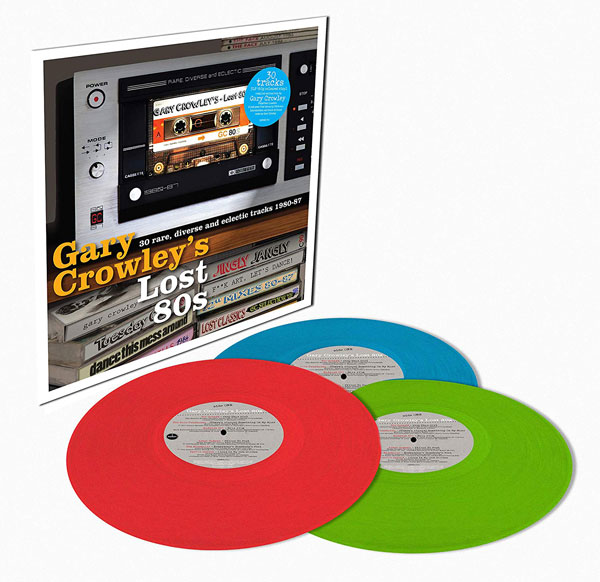 On CD and vinyl: Gary Crowley's Lost 80s box set