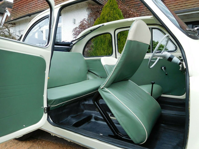 1963 Fiat 500D Trasformabile car on eBay