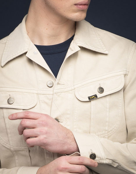 1950s Lee Westerner Jacket in Alabaster Stone