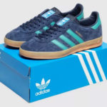 1970s Adidas Gazelle Indoor trainers return in blue