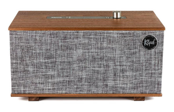 Klipsch The Three vintage-style speaker with Google Assistant