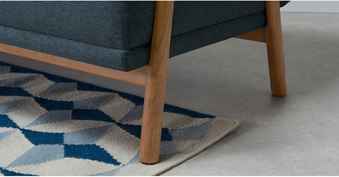 Lars Scandinavian-inspired sofa bed at Made