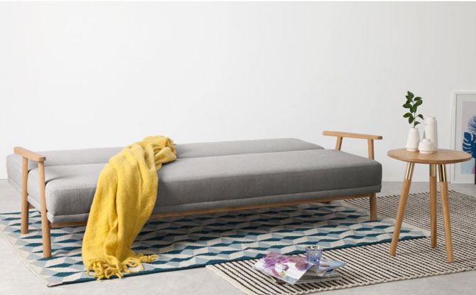 Lars Scandinavian-inspired sofa bed at Made
