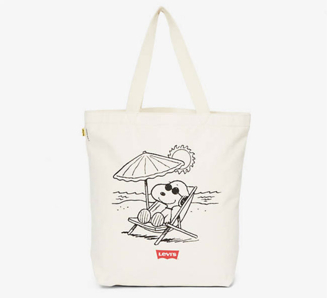 Levi's v Peanuts clothing and accessories range