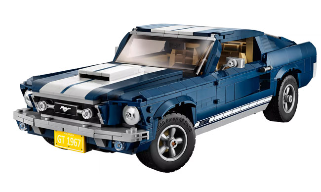 Steve McQueen Lego: Build a 1967 Ford Mustang