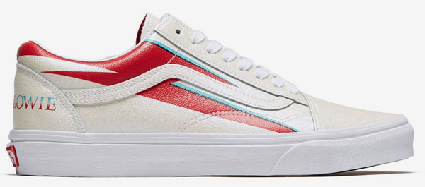 Vans x David Bowie footwear range unveiled