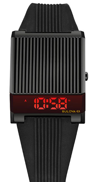 1970s Bulova Computron LED watch back on the shelves