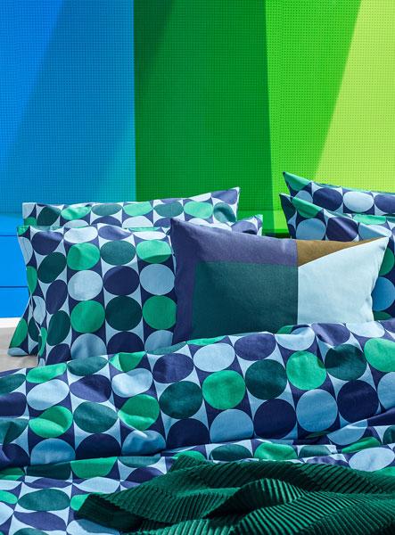 Krokuslilja 1960s-style duvet cover at Ikea