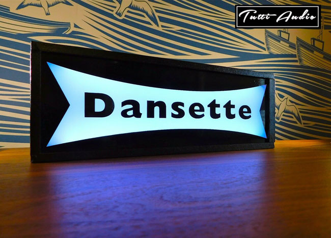 Dansette colour-changing light box by Tutti Audio