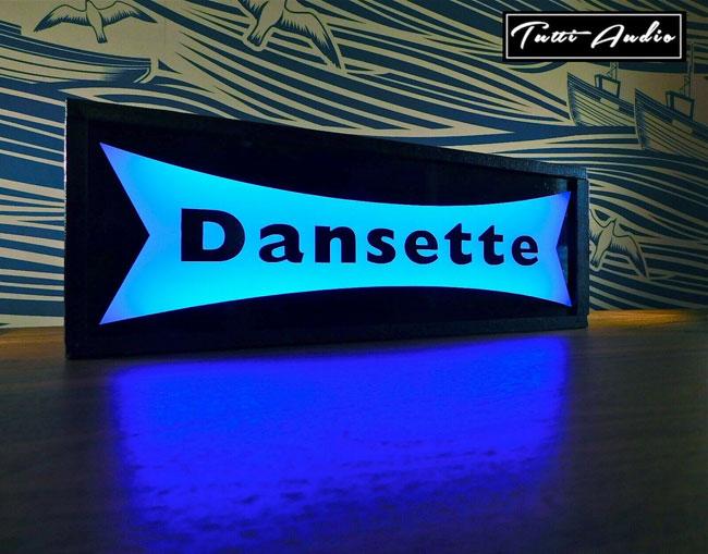 Dansette colour-changing light box by Tutti Audio