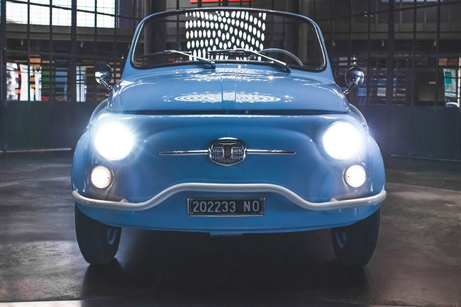 Retro wheels: Fiat 500 Jolly Icon-e by Garage Italia