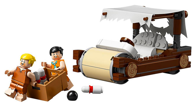 The Flintstones Lego set is now available