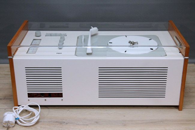 1950s Dieter Rams-designed Braun SK4 audio system on eBay