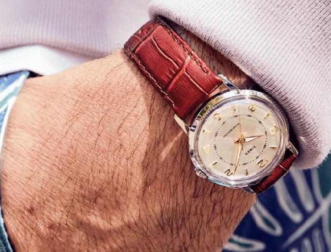 1950s Timex x Todd Snyder Welton Bi-Metal watch returns
