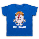 David Bowie Mr Men t-shirts now available for kids