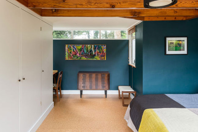 Renovated 1960s Gerald Beech midcentury modern house in Broadstairs, Kent