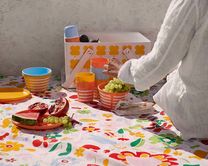 Go retro with the Ikea Sommar 2019 outdoor range