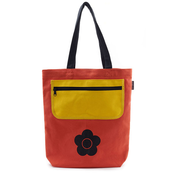 Mary Quant 1960s-style tote bag at the V&A Shop