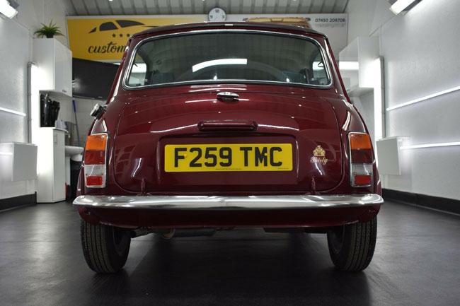 Restored 30th anniversary Austin Mini on eBay