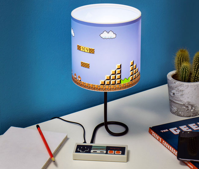 Bring back the 1980s with the Nintendo NES Lamp