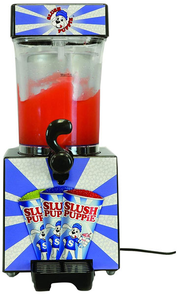 Stay cool with the retro Slush Puppie Slushie Maker
