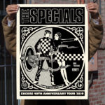 The Specials 40th anniversary tour print by Shepard Fairey